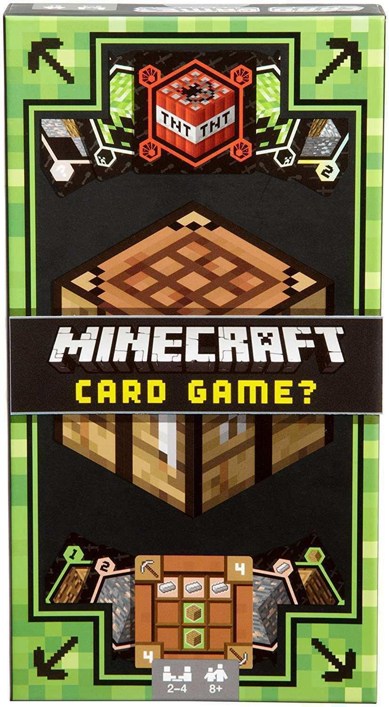Купить Карточная игра Mattel Minecraft Card Game Майнкрафт,