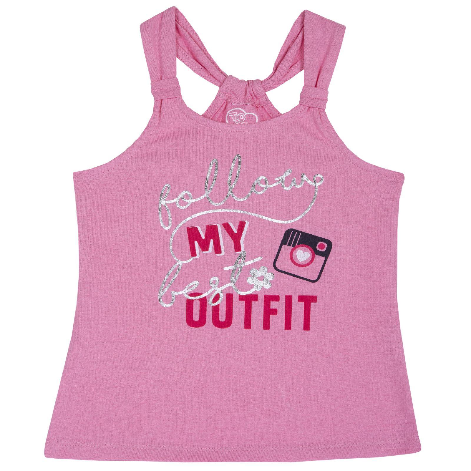 Купить 9006874, Майка Chicco My Outfit, для девочки, р.110, цв. розовый,
