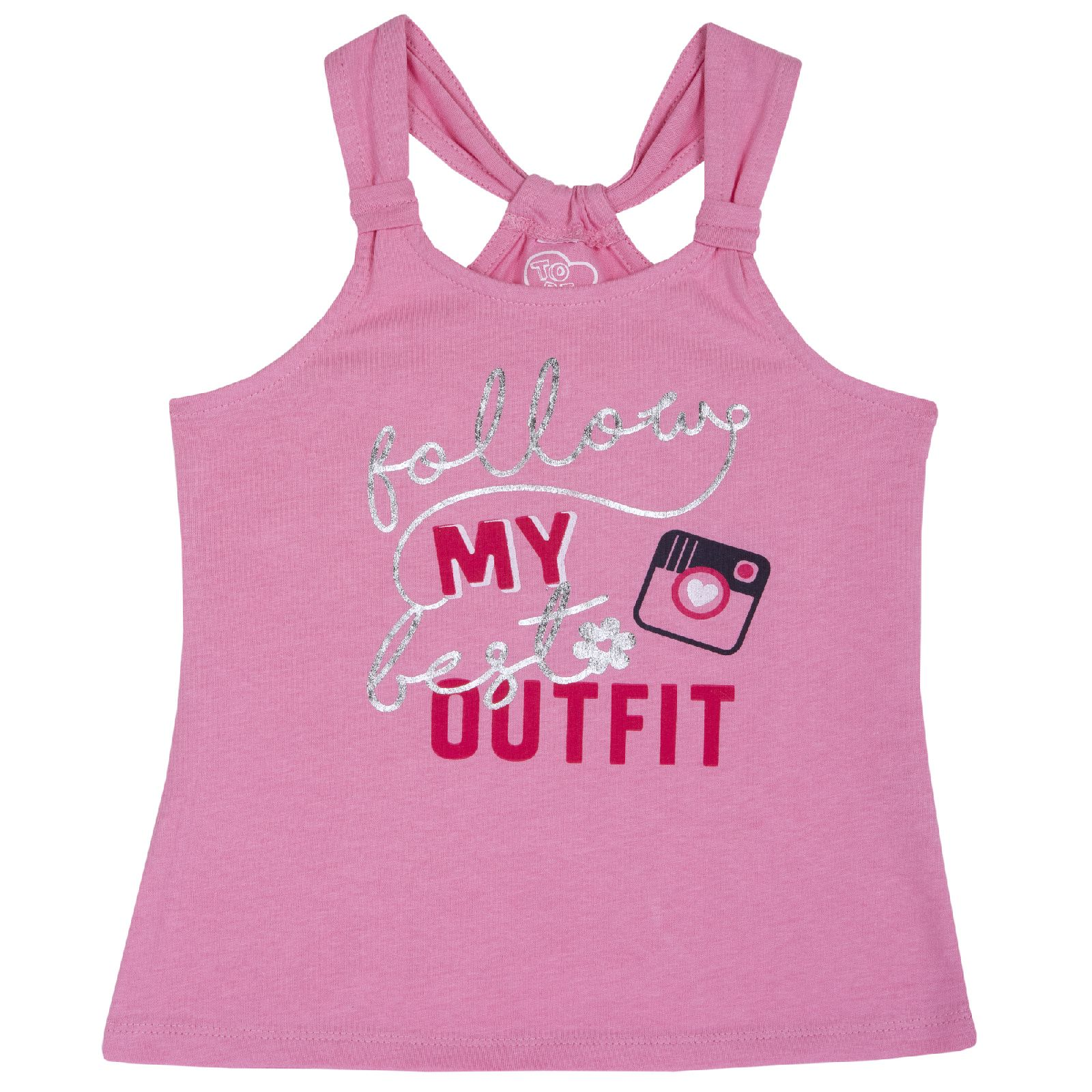 Купить 9006874, Майка Chicco My Outfit, для девочки, р.122, цв. розовый,
