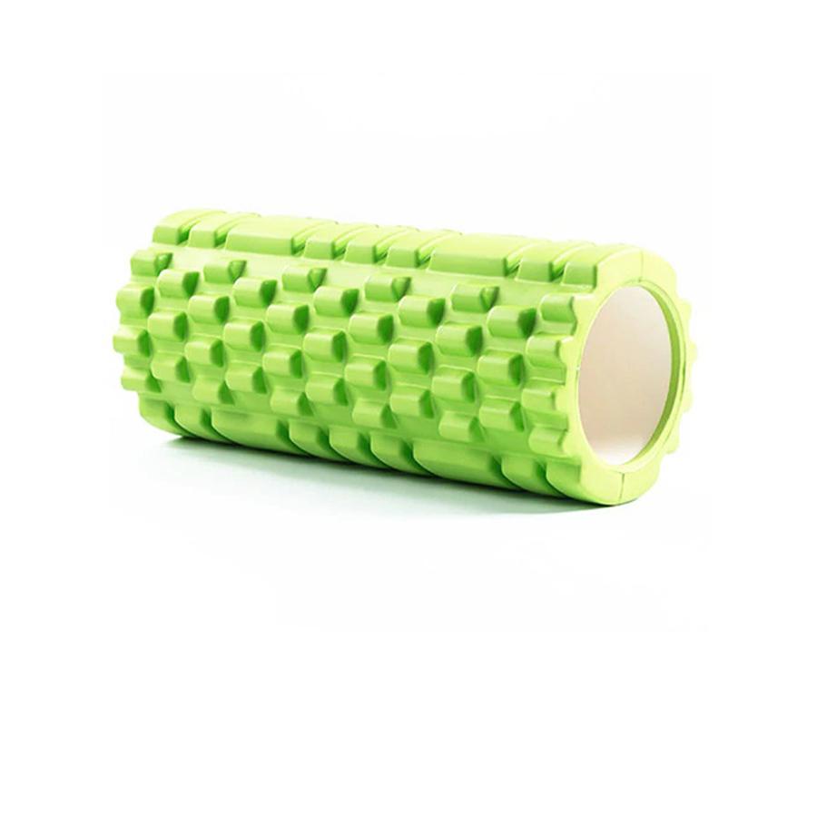 Ролик для фитнеса, зеленый.