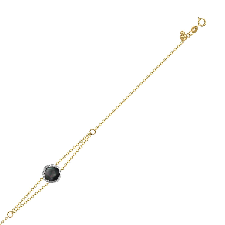 Браслет женский MIUZ Diamonds (Московский ювелирный завод) B108-1983075EAX-R17