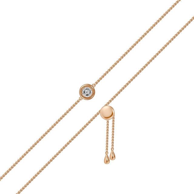 Браслет женский MIUZ Diamonds (Московский ювелирный завод) B2018-BR470030ADI