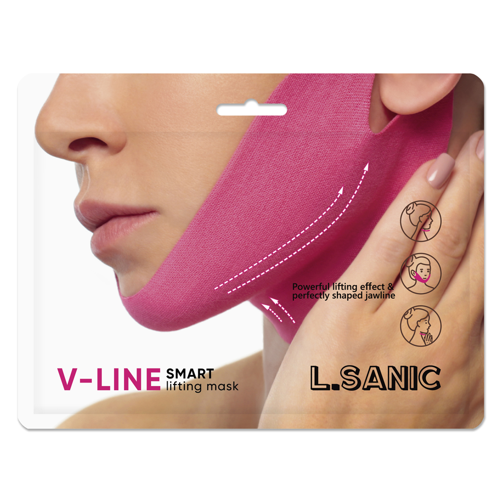 Маска-бандаж для коррекции овала лица L.SANIC 11г