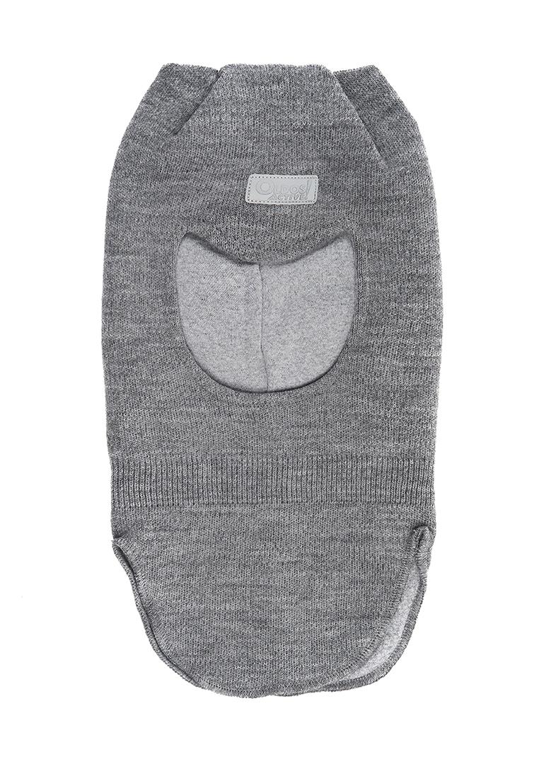 Купить Шапка-шлем для девочки Вара AAW202K1HW04 Oldos цв.серый р.48-50,