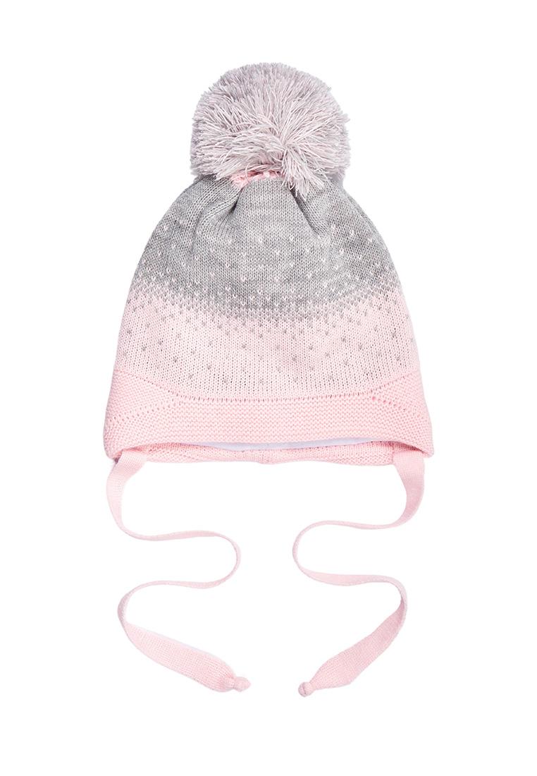 Купить Шапка для девочки Вега AAW202K1HW09 Oldos цв.розовый р.48-50,