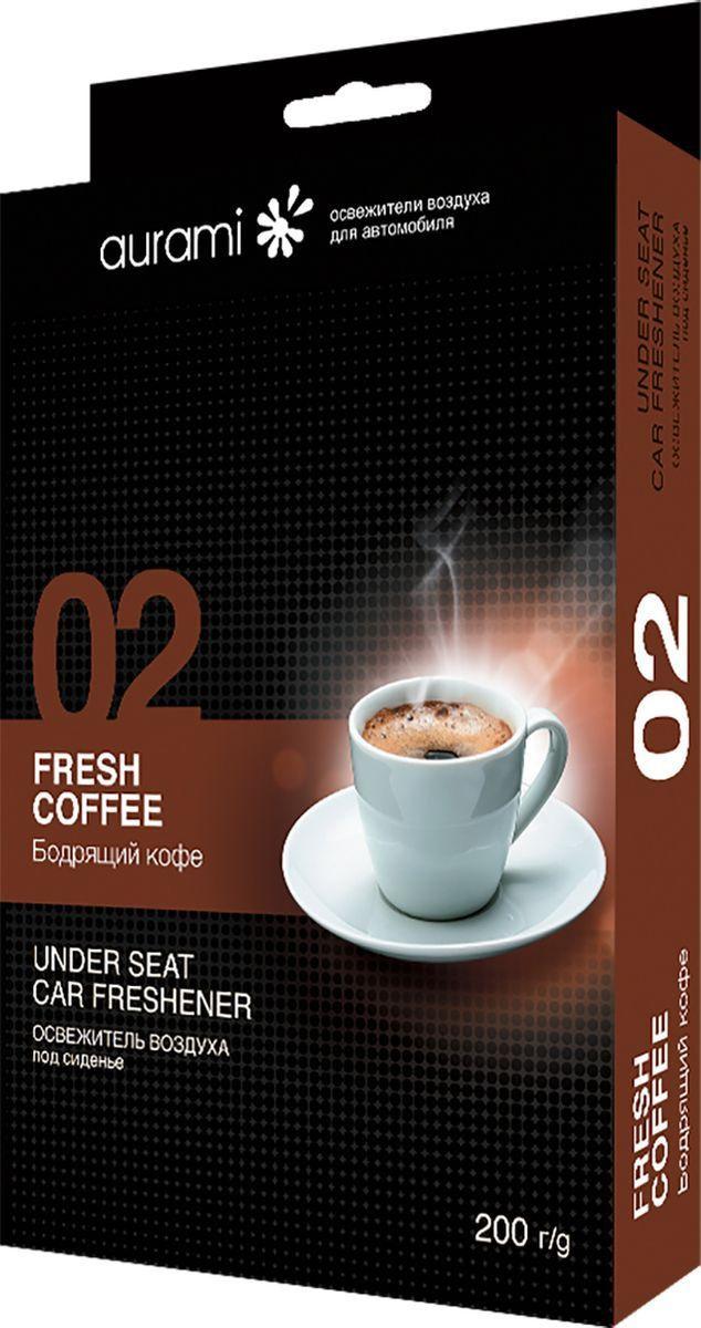 Ароматизатор под сиденье гелевый (бодрящий кофе) 200г