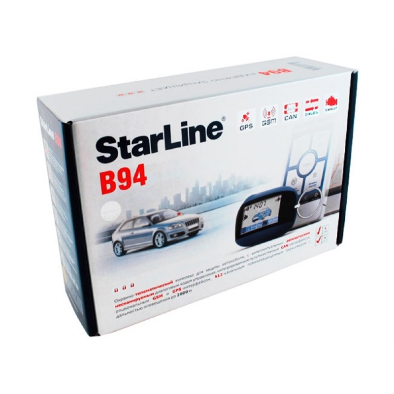 Сигнализация STAR LINE B94 Dialog 2CAN, обратная
