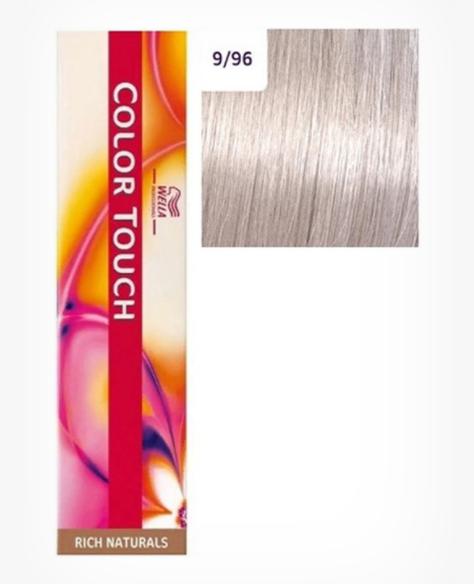 Купить Краска для волос Wella Color Touch Rich Naturals 9/96 очень светлый блонд сандрэ 60 мл, Wella Professionals