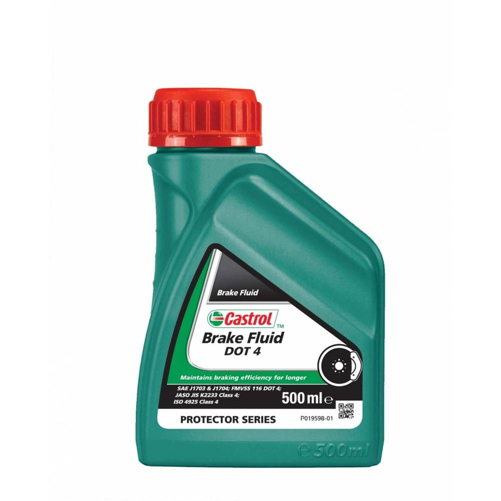 Жидкость тормозная CASTROL Brake Fluid DOT4