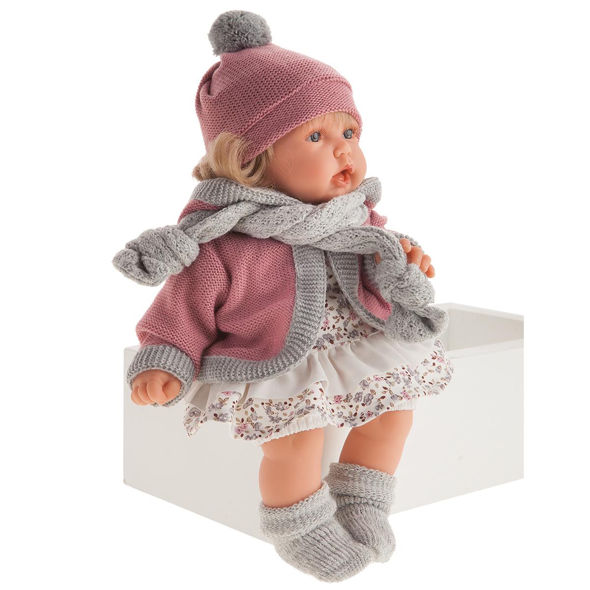 1234 Кукла Солидад в розовом озвученная