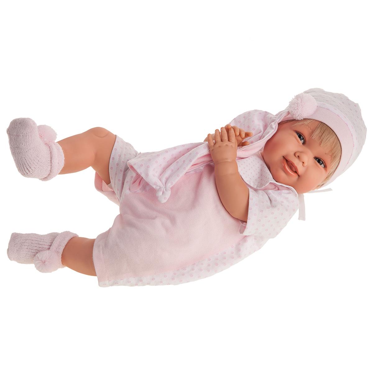 Купить 2000 Кукла Мартина в розовом, озвученная (мама, папа, смех), 52 см, Antonio Juan,