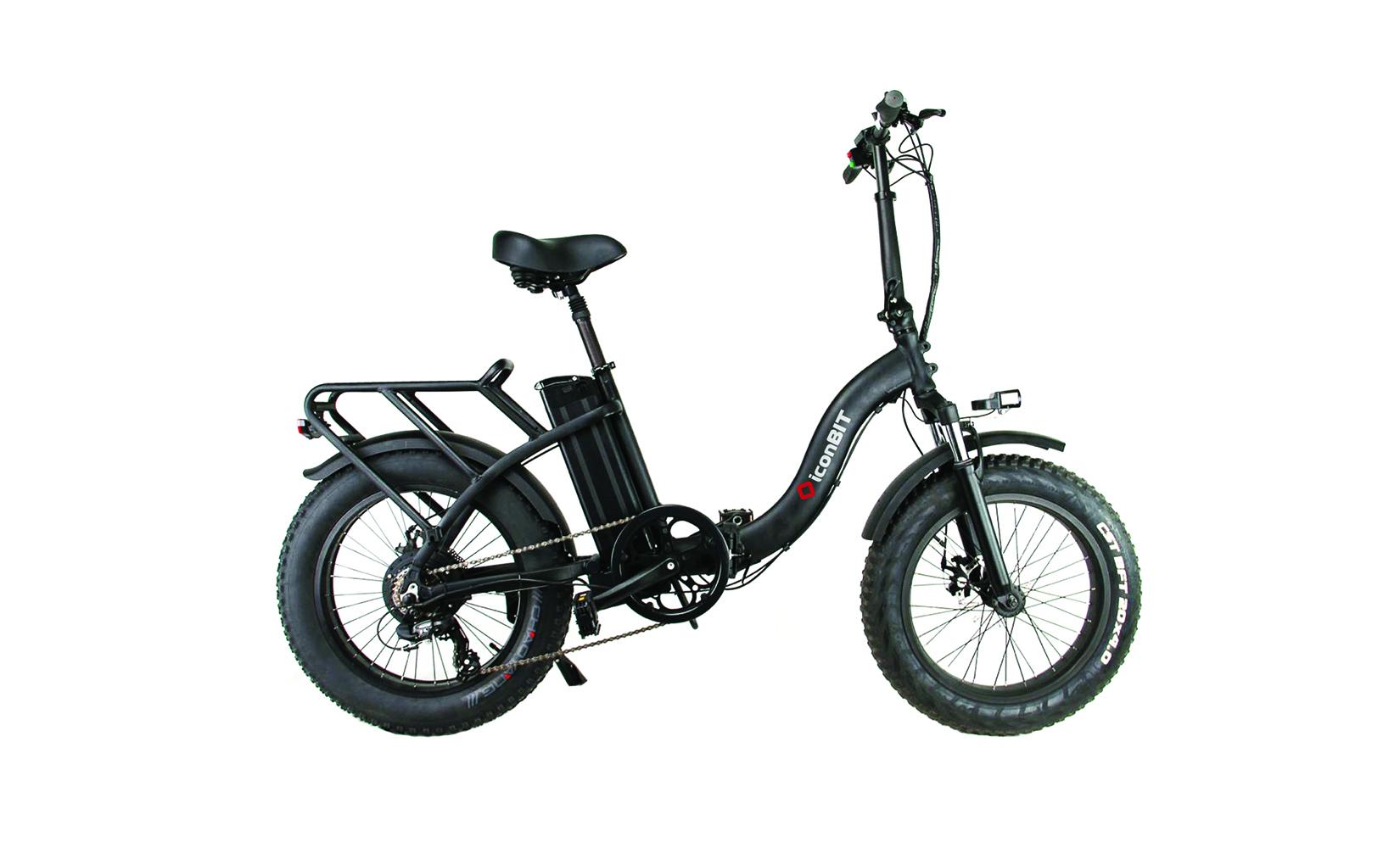 Электровелосипед Iconbit E-BIKE K220 (2020) (Черный)