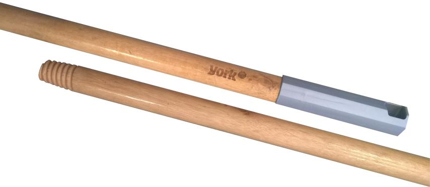 YORK Рукоятка для швабрыYORK деревянная лакированная 120см