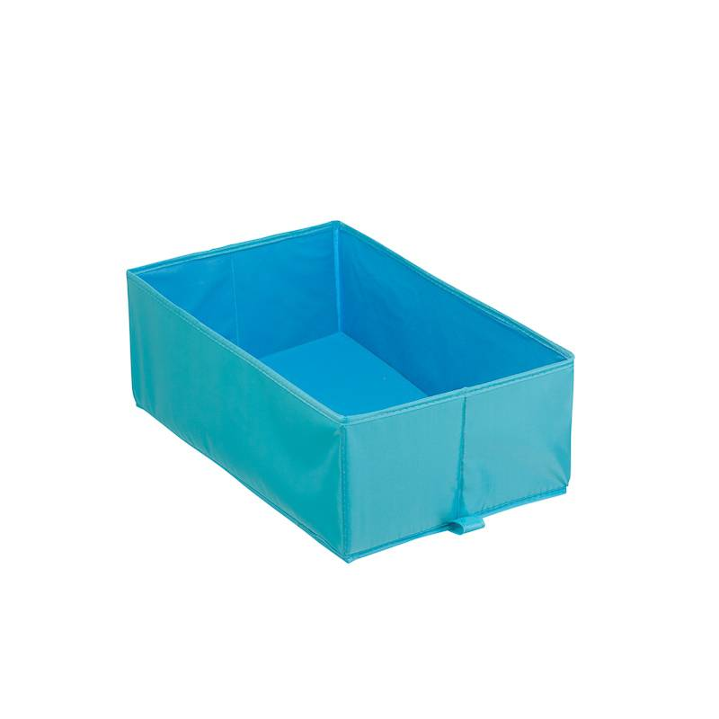 Короб для хранения, Д270 Ш440 В160, голубой,