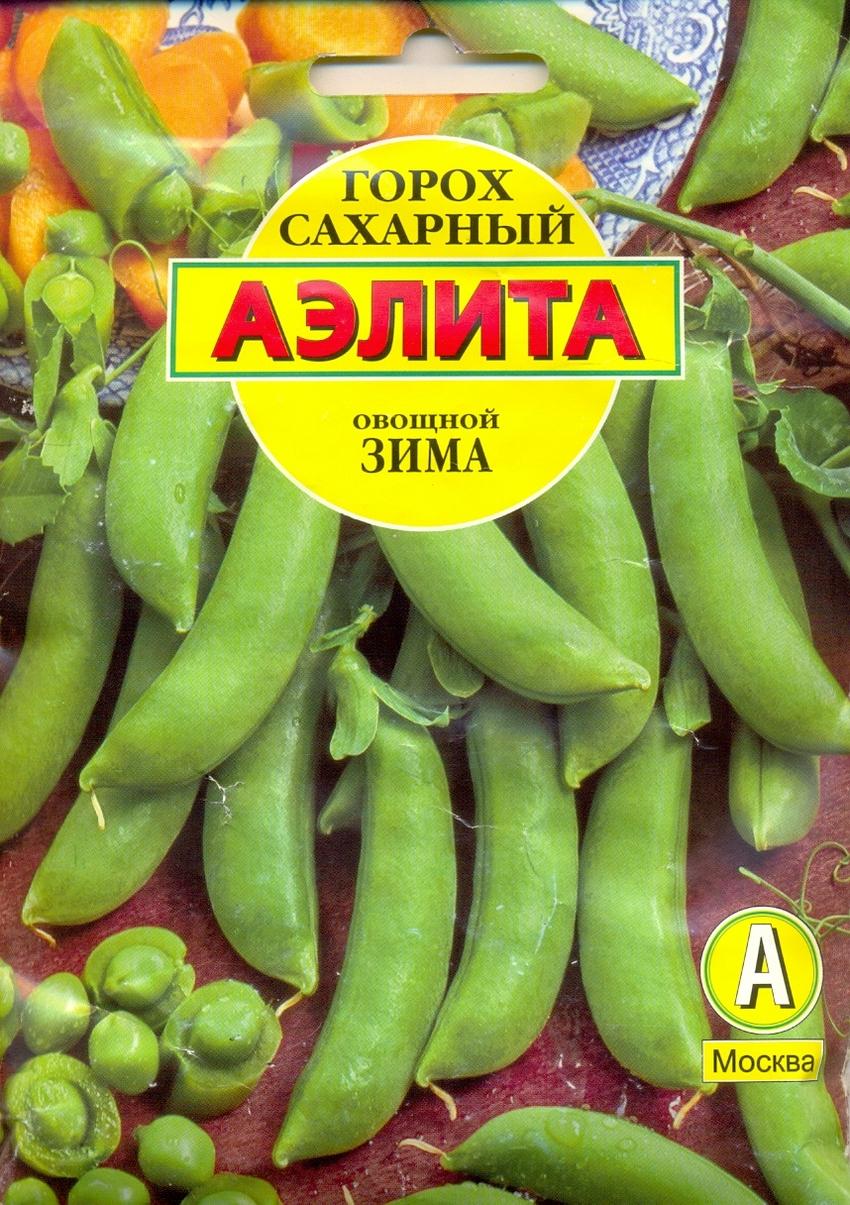 Семена овощей Аэлита Горох Зима сахарный