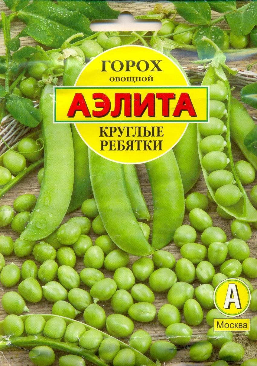Семена овощей Аэлита Горох Круглые ребятки