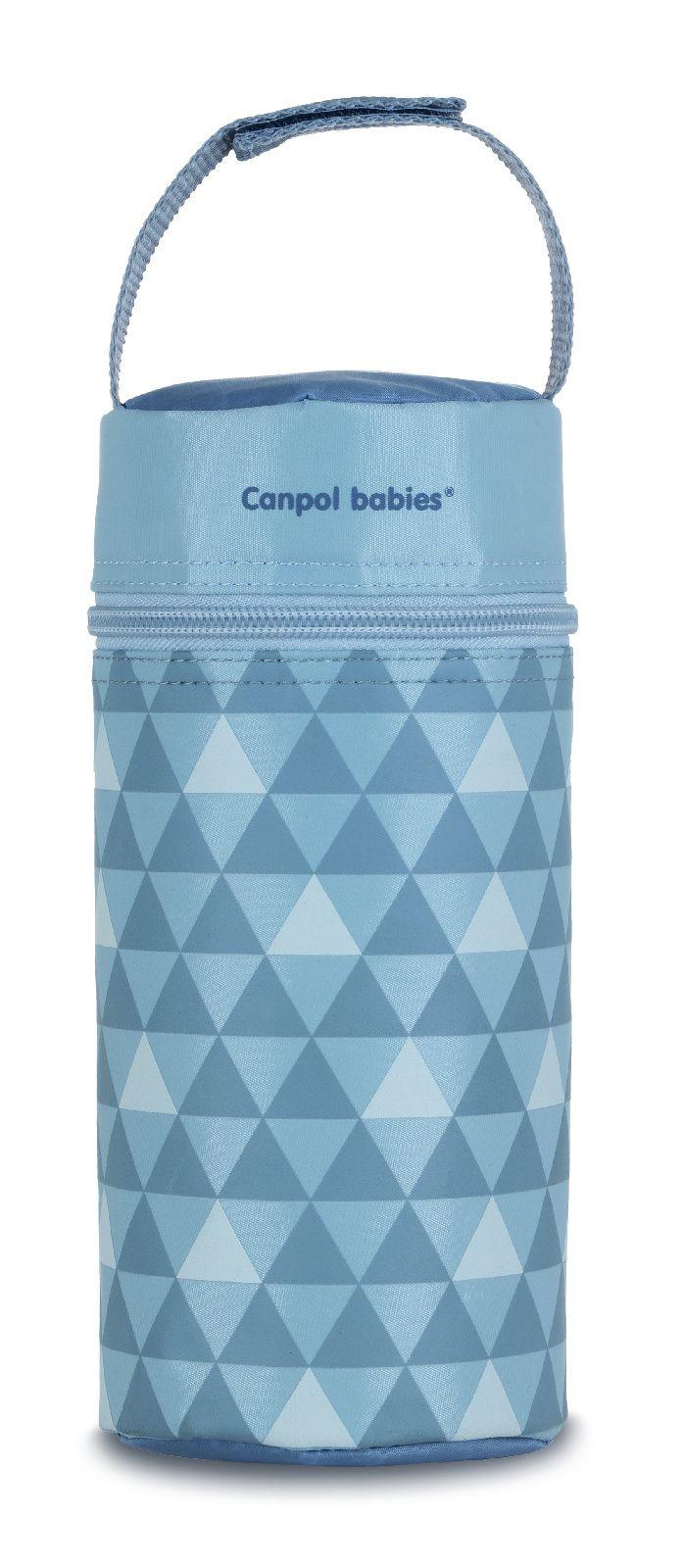 Купить Retro, арт. 69/010, Термосумка для детских бутылочек Canpol Retro серый, Canpol Babies,