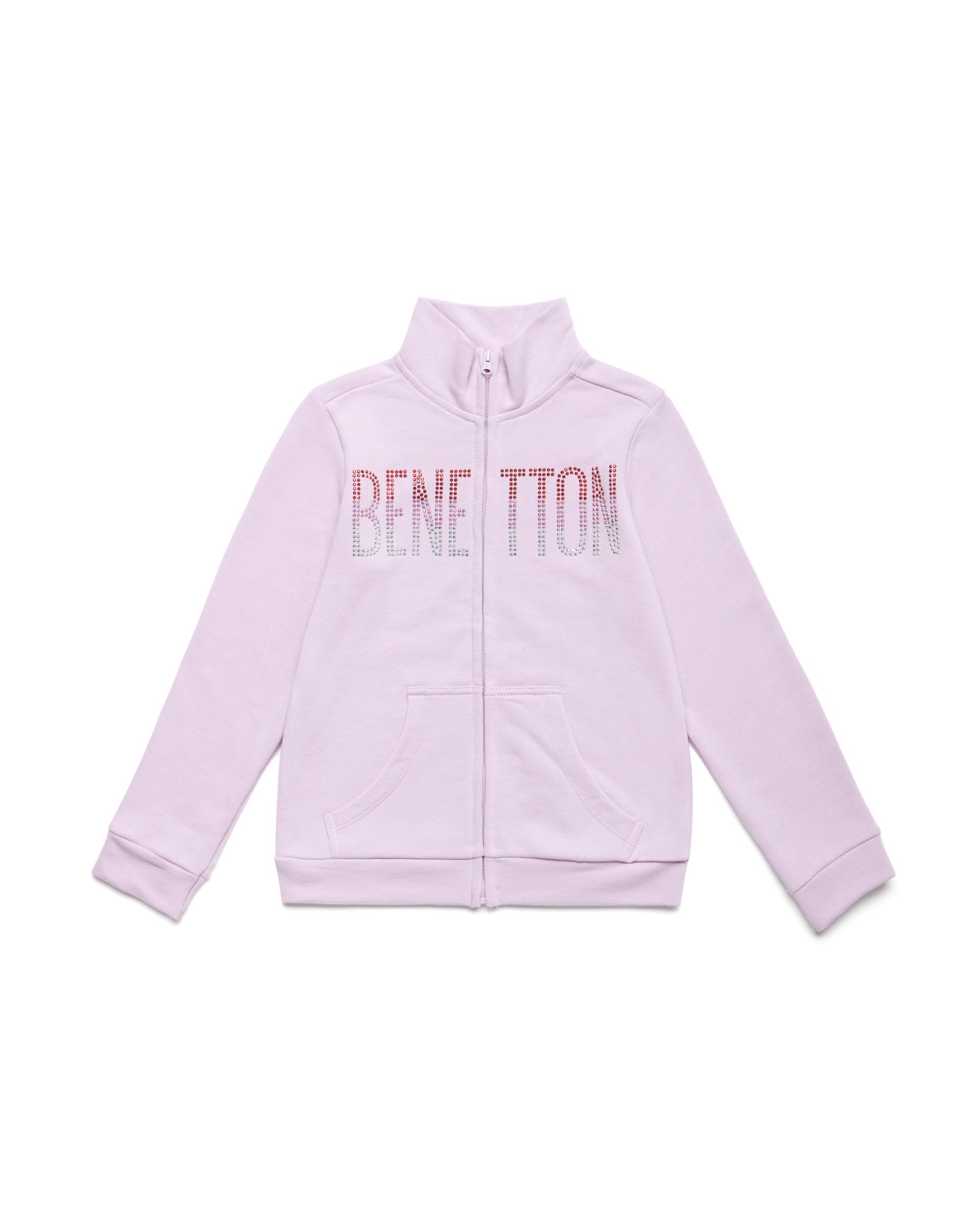 Купить 20P_3J68C5793_07M, Толстовка для девочек Benetton 3J68C5793_07M р-р 110, United Colors of Benetton, Толстовки для девочек