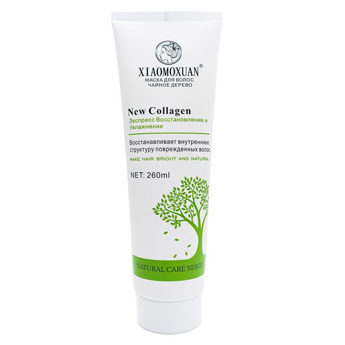 Купить Маска для волос Xiaomoxuan New Collagen 260 мл, Маска с коллагеном для питания и восстановления повреждённых волос