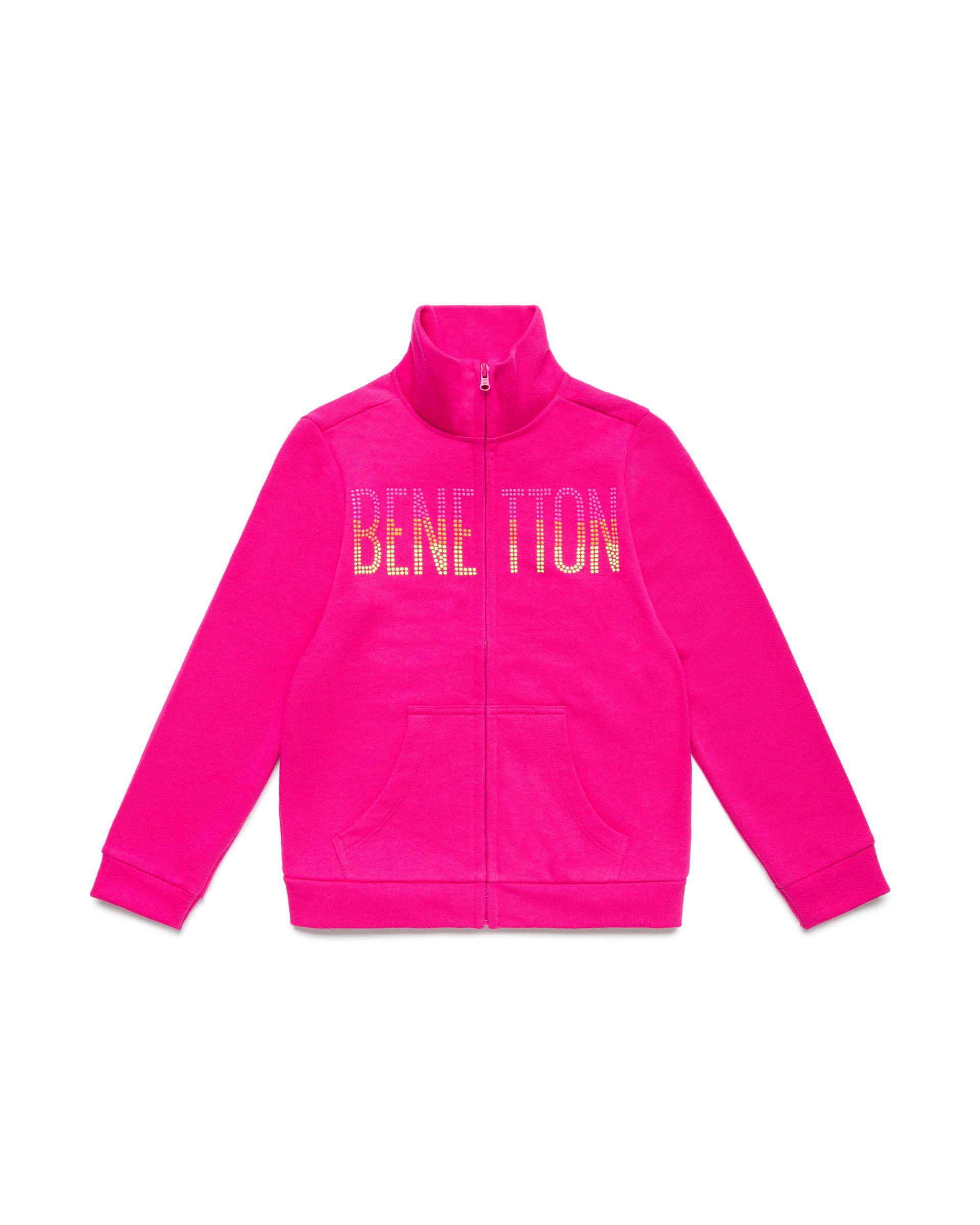 Купить 20P_3J68C5793_2L3, Толстовка для девочек Benetton 3J68C5793_2L3 р-р 152, United Colors of Benetton, Толстовки для девочек