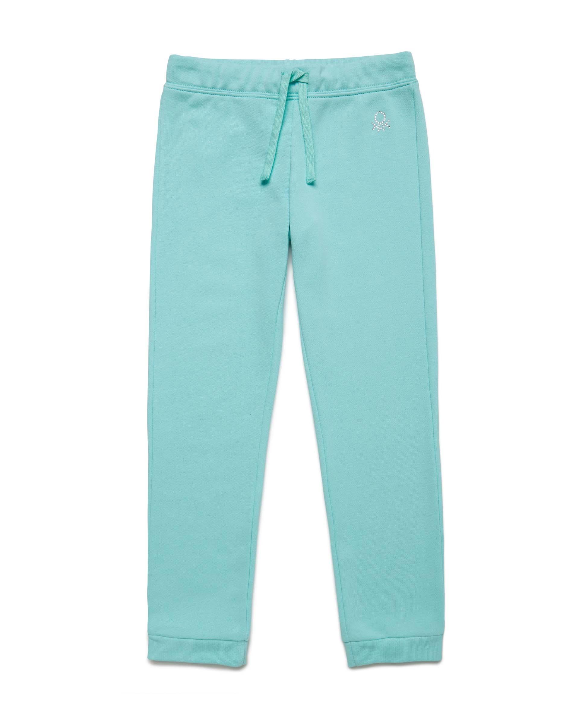 Купить 20P_3J68I0897_0Z8, Спортивные брюки для девочек Benetton 3J68I0897_0Z8 р-р 80, United Colors of Benetton, Шорты и брюки для новорожденных