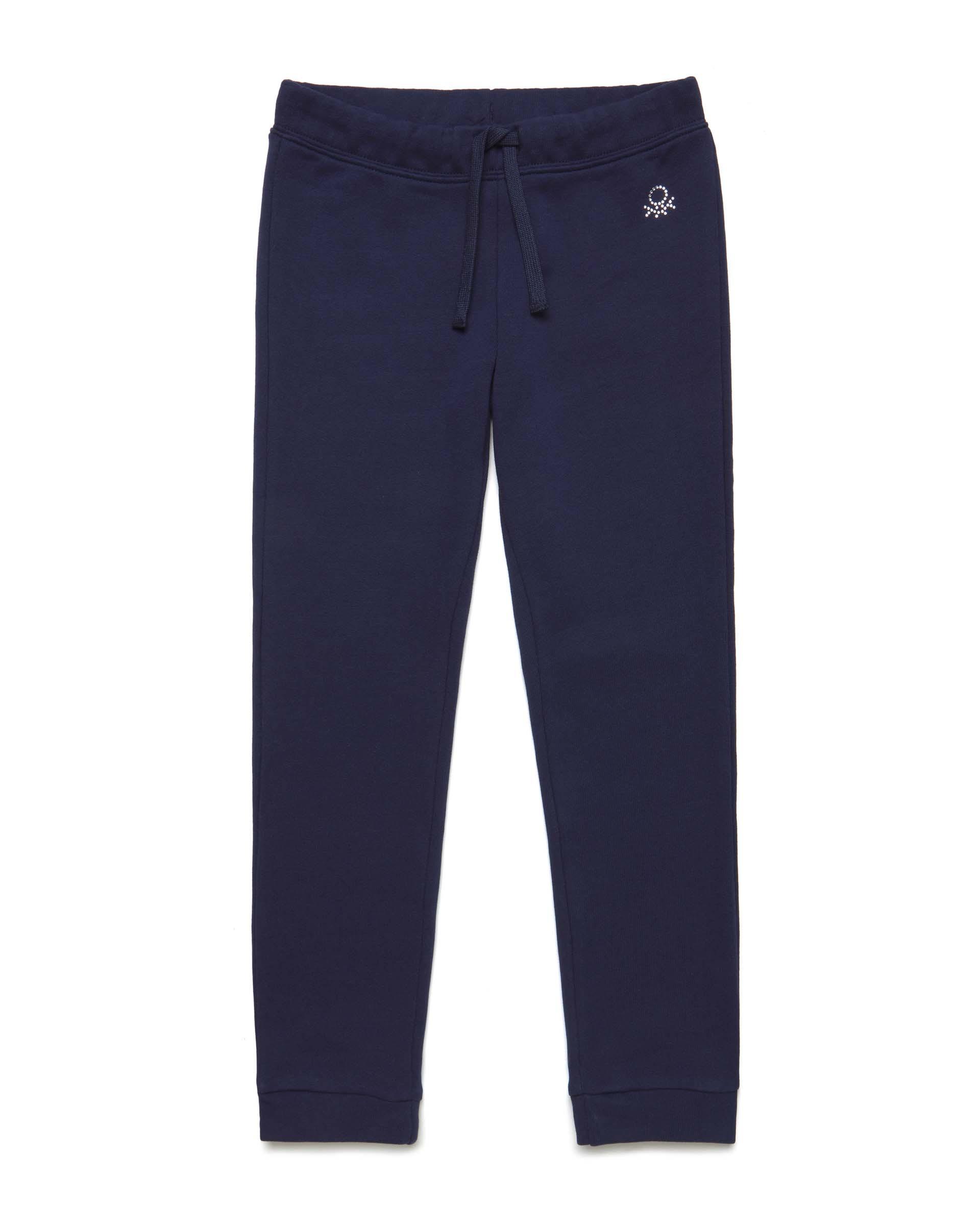 Купить 20P_3J68I0897_252, Спортивные брюки для девочек Benetton 3J68I0897_252 р-р 128, United Colors of Benetton, Брюки для девочек