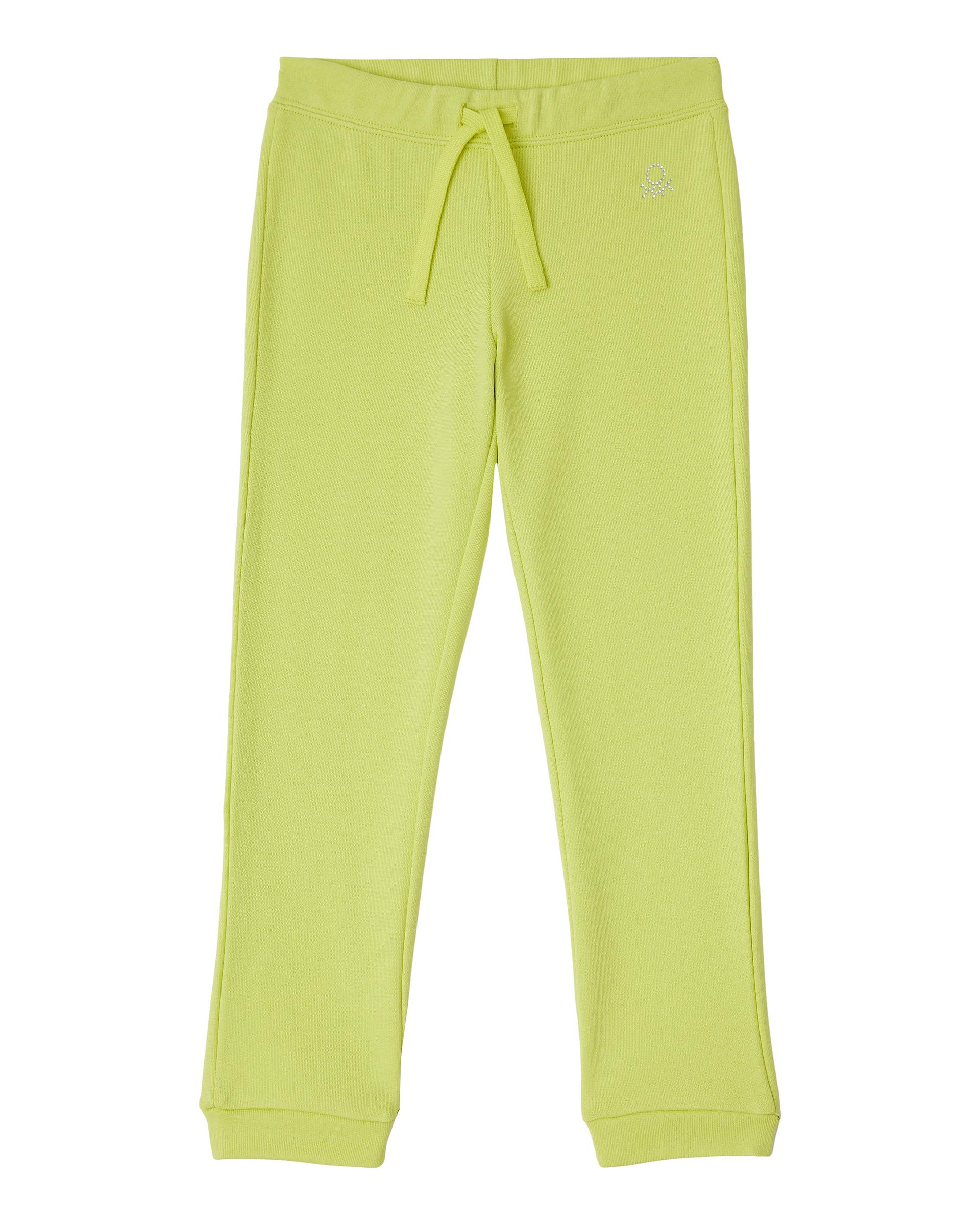 Купить 20P_3J68I0897_28M, Спортивные брюки для девочек Benetton 3J68I0897_28M р-р 92, United Colors of Benetton, Шорты и брюки для новорожденных