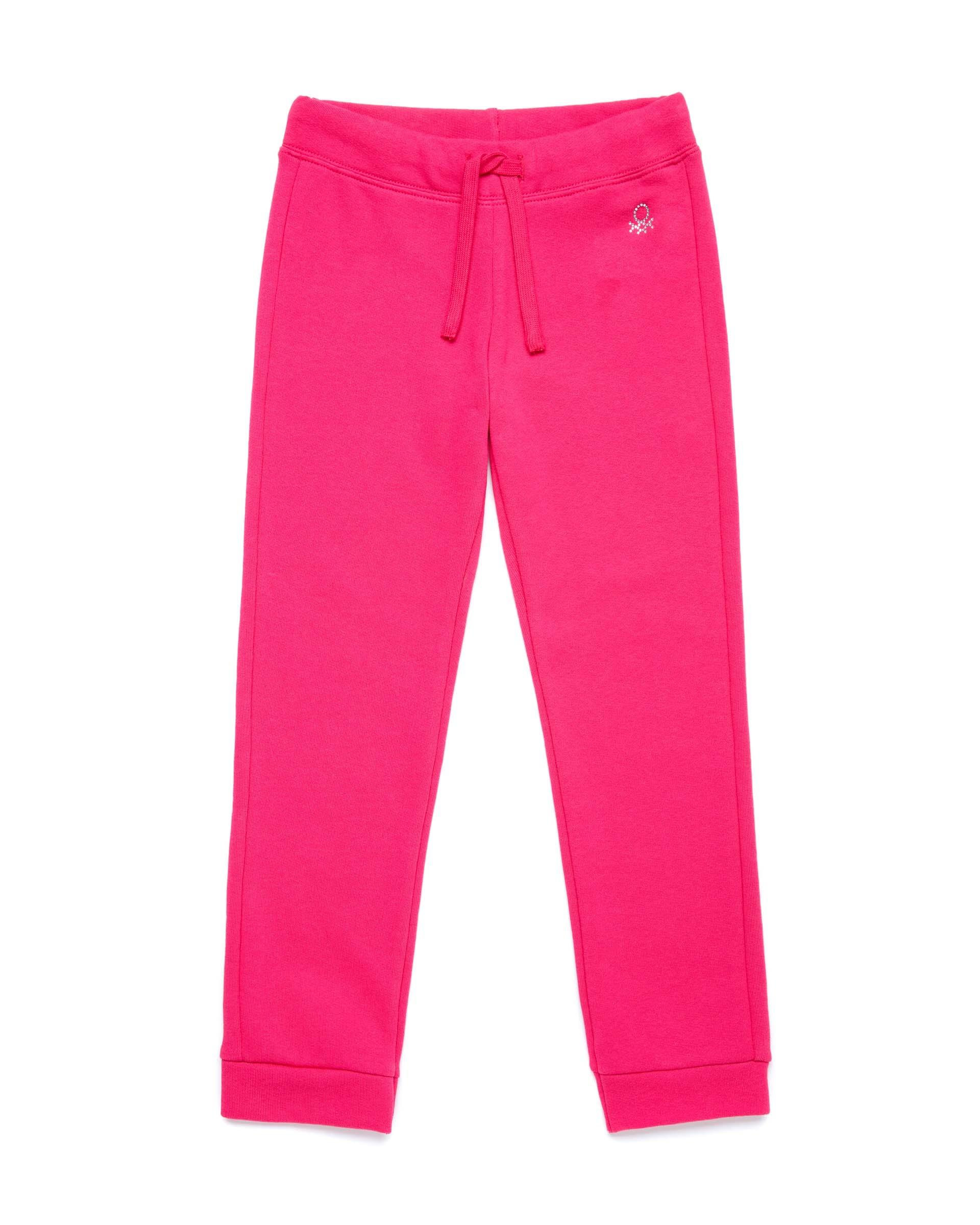 Купить 20P_3J68I0897_2L3, Спортивные брюки для девочек Benetton 3J68I0897_2L3 р-р 140, United Colors of Benetton, Брюки для девочек