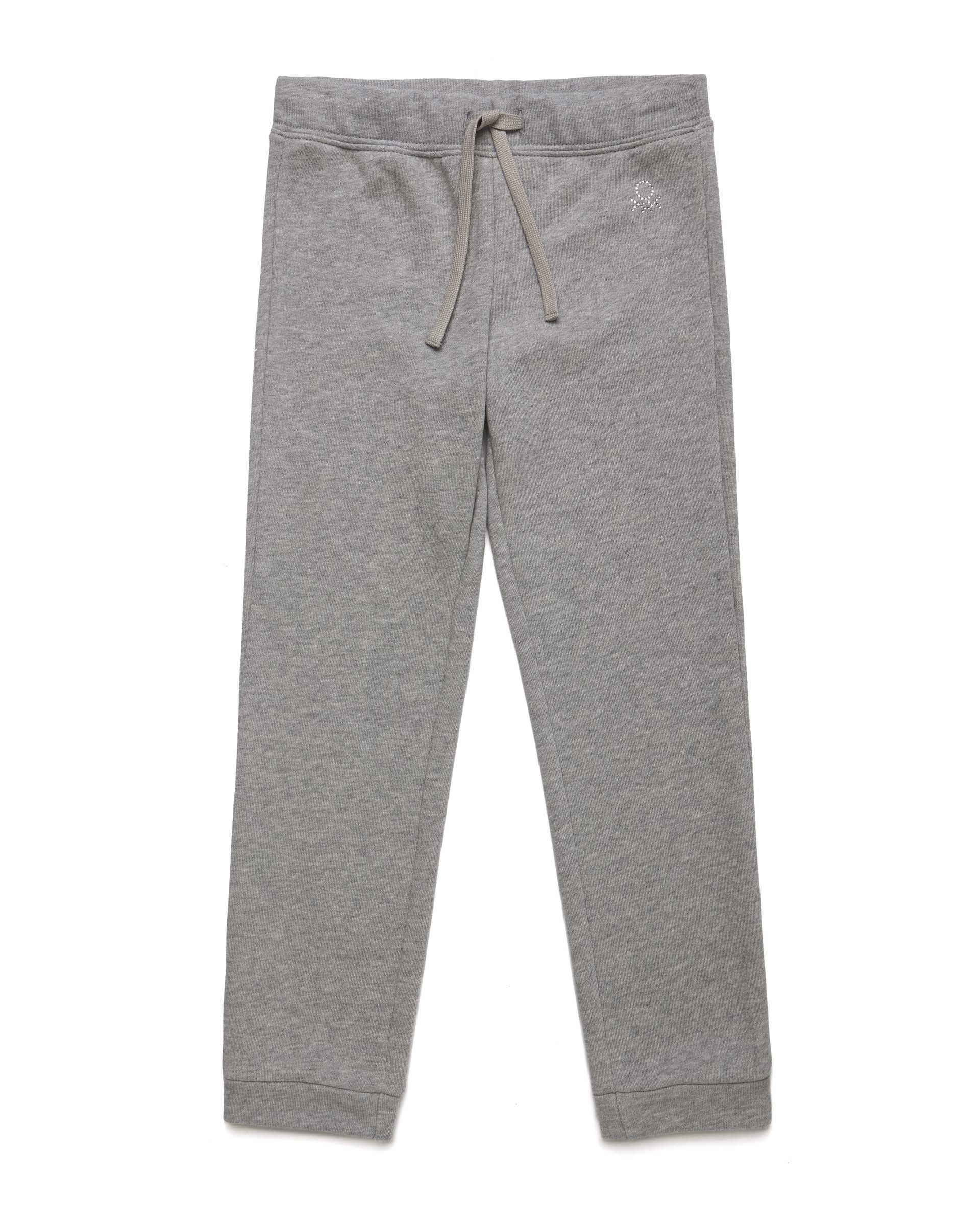 Купить 20P_3J68I0897_501, Спортивные брюки для девочек Benetton 3J68I0897_501 р-р 110, United Colors of Benetton, Брюки для девочек