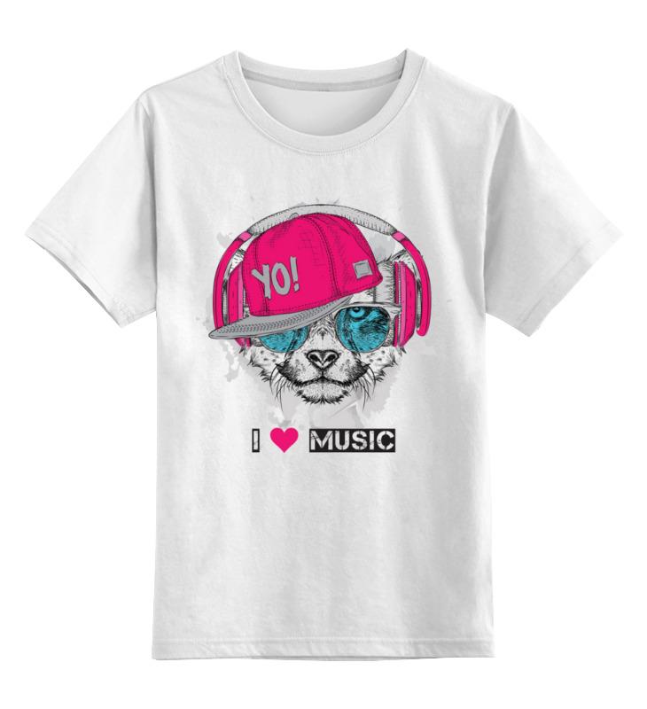 Детская футболка Printio Щенок цв.белый р.116 0000003433997 по цене 790