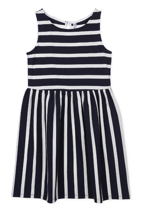 Купить 220121004, Платье PlayToday для девочек, цв. белый, р-р 134, Play Today, Платья для девочек