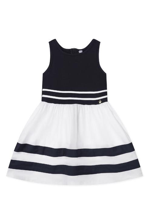 Купить 220221021, Сарафан PlayToday для девочек, цв. белый, р-р 122, Play Today, Сарафаны для девочек