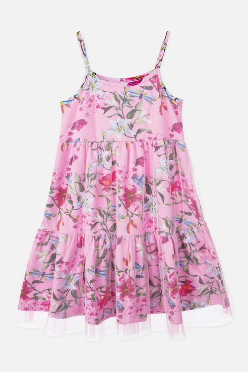 Сарафан PlayToday для девочек, цв. розовый, р-р 104 Play Today 220223009