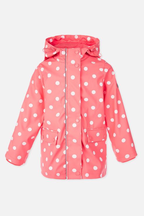 Купить 120227003, Плащ PlayToday для девочек, цв. розовый, р-р 110, Play Today, Дождевики и плащи для девочек