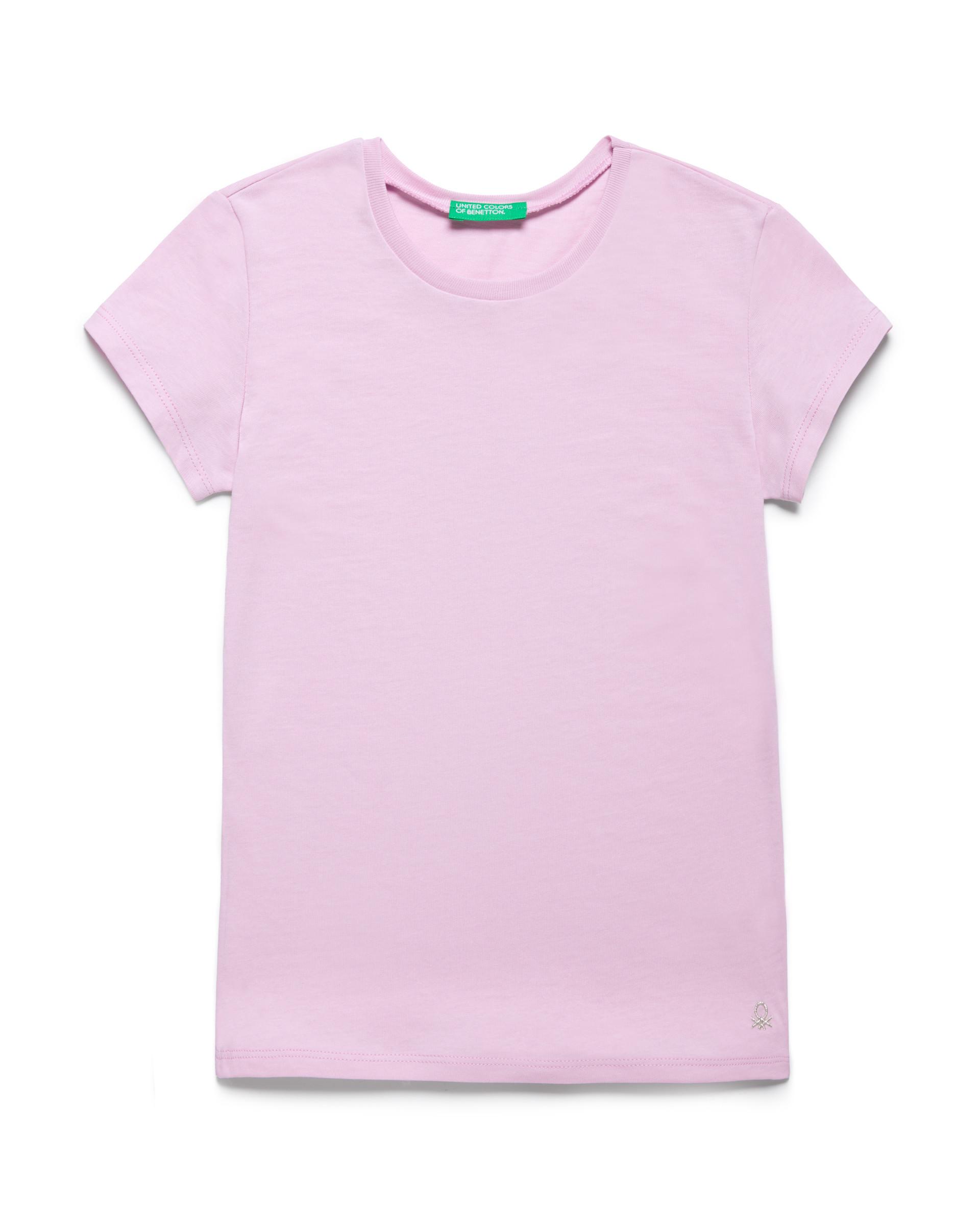 Купить 20P_3I1XC13J1_07M, Футболка для девочек Benetton 3I1XC13J1_07M р-р 122, United Colors of Benetton, Футболки для девочек