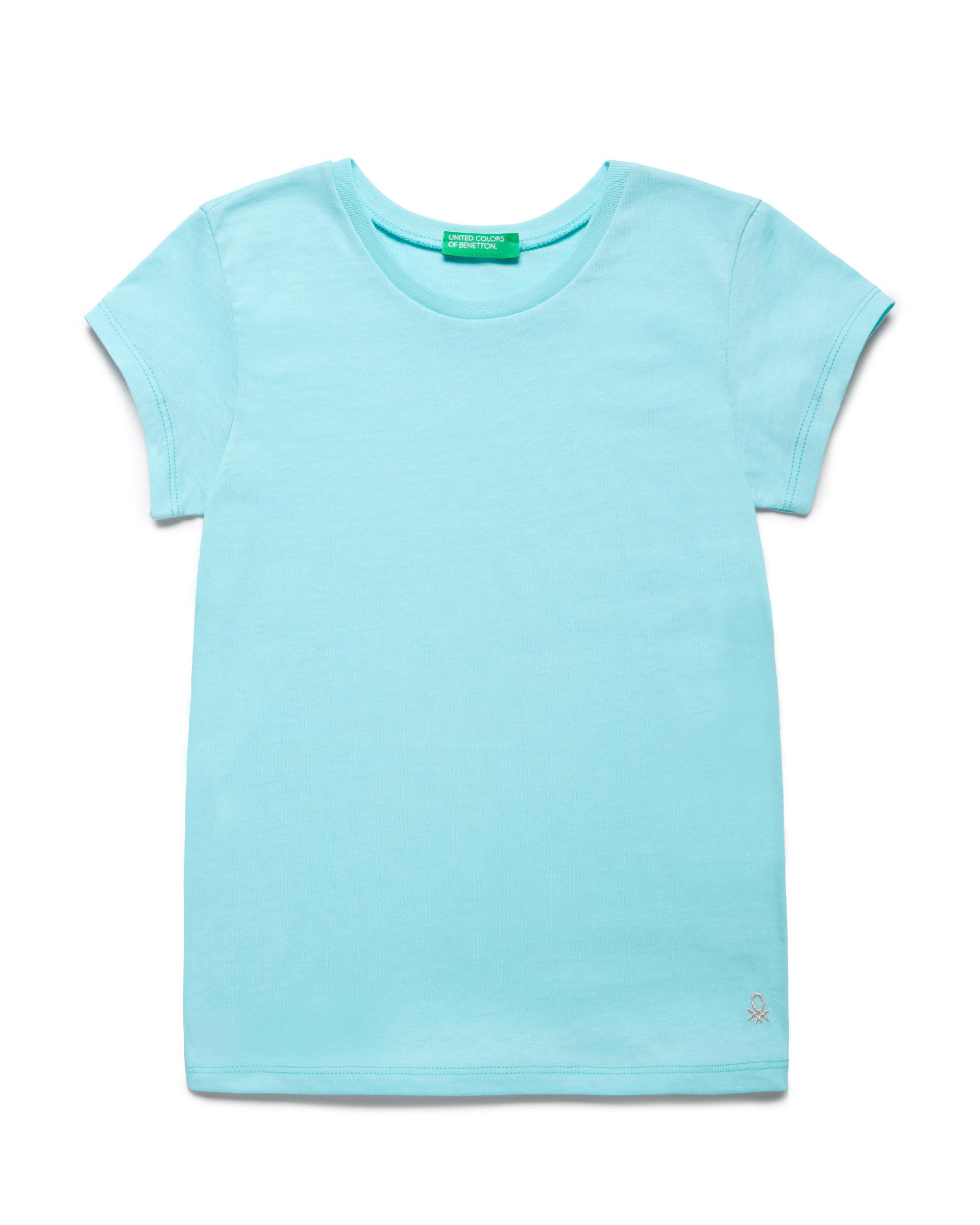 Купить 20P_3I1XC13J1_0Z8, Футболка для девочек Benetton 3I1XC13J1_0Z8 р-р 80, United Colors of Benetton, Кофточки, футболки для новорожденных
