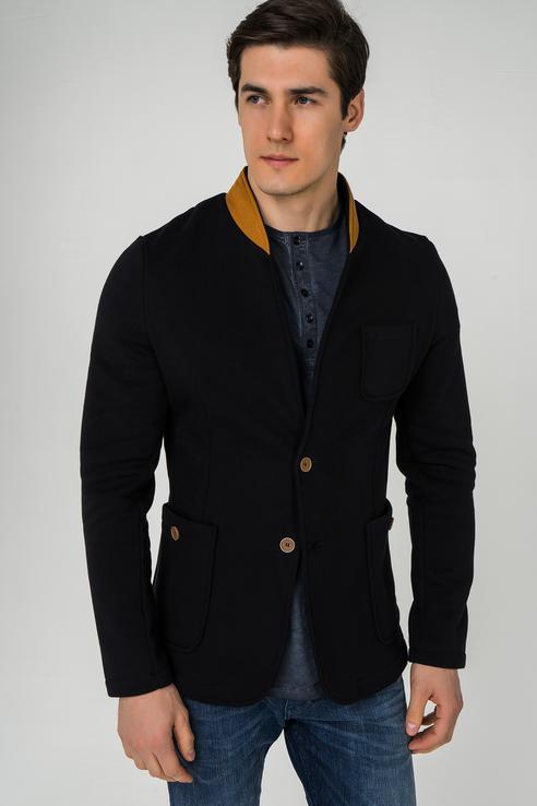 Пиджак мужской OMBRE M07 черный S