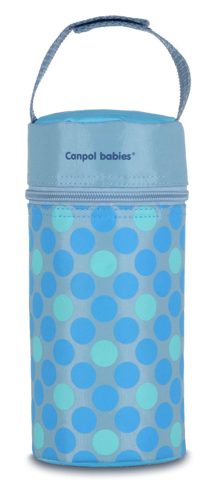 Купить Retro, арт. 69/010, Термосумка для детских бутылочек Canpol Retro голубой, Canpol Babies,