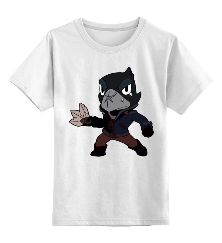 Детская футболка Printio Бравл старс цв.белый р.128 0000003365404 по цене 790