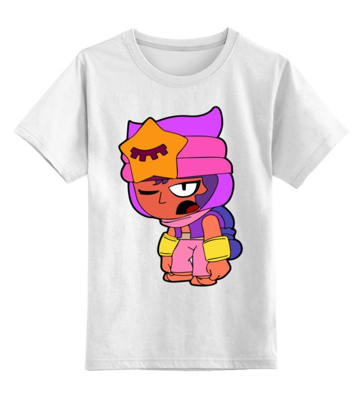 Детская футболка Printio Бравл старс цв.белый р.128 0000003365410 по цене 790