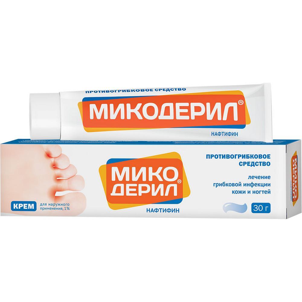 Микодерил крем для наружн.прим.1% туба 30 г