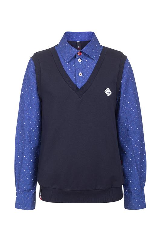 Рубашка-обманка NOTA BENE 192140701В-29 р.134