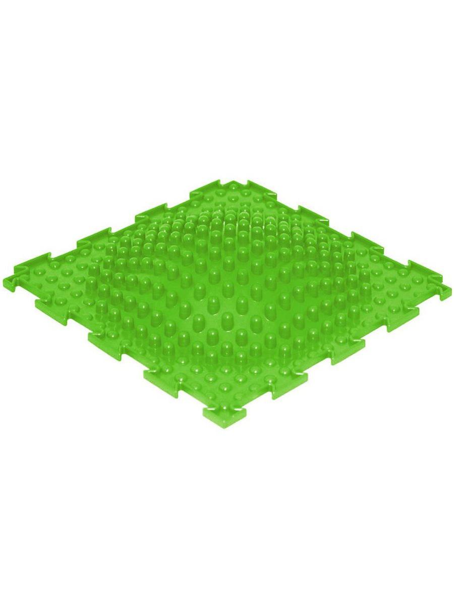 Массажный коврик Ортодон Островок мягкий салатовый