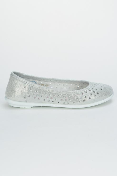 Купить 632172-20, Туфли для девочек Котофей цв. серебристый р-р. 36,