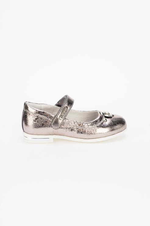 Купить 92T-XY-1454, Туфли для девочек Flamingo цв. золотистый р-р. 27,