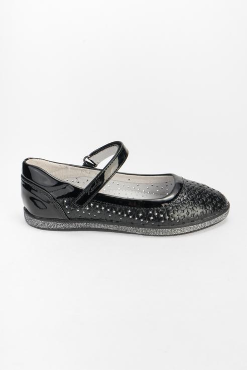 Купить MXI_8255-6_black, Туфли для девочек KENKÄ цв. черный р-р. 32, KENKA,