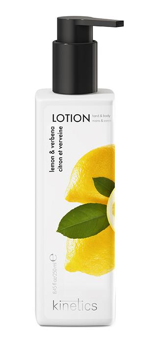 Купить Лосьон для рук и тела Kinetics Лимон и Вербена, 250 мл, KL015