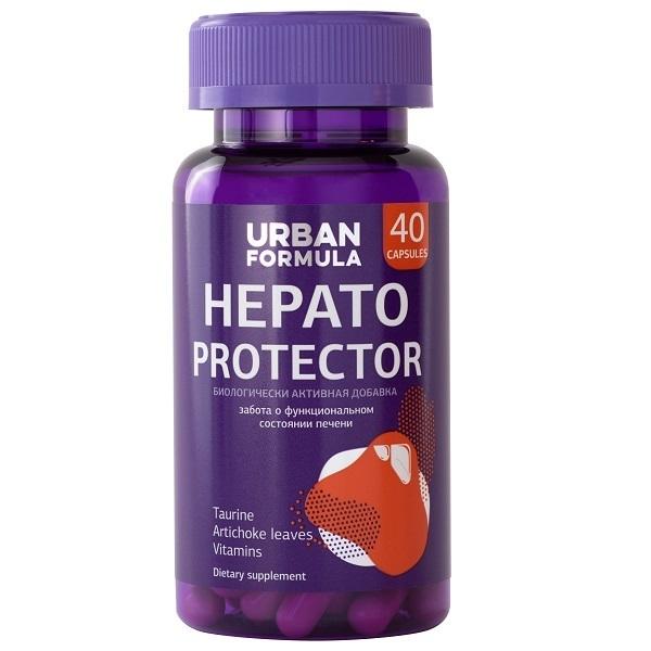 Купить Комплекс для печени с таурином Urban Formula Hepato Protector капсулы 40 шт.