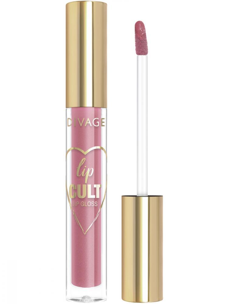 Купить Блеск для губ Divage Lip Gloss Lip Cult Тон 05