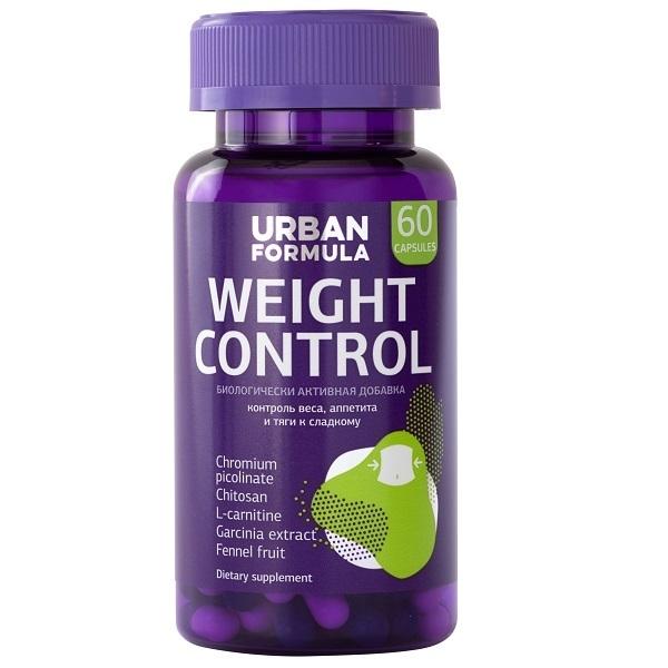 Купить Комплекс для контроля веса и аппетита Urban Formula Weight Control капсулы 60 шт.